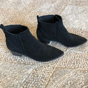 Marc Fisher Booties - Suede, size 7, like new